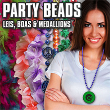 Party Beads, Medallions, Leis and Boas