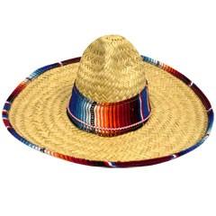 Serape Trimmed Child Size Sombrero