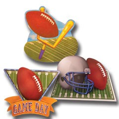 Football Game Day Cutouts