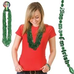 Kiss Me I'm Irish Beads
