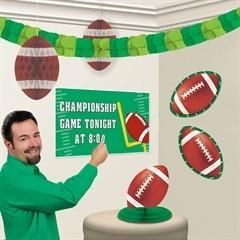 Football Customizable  Decoration Kit