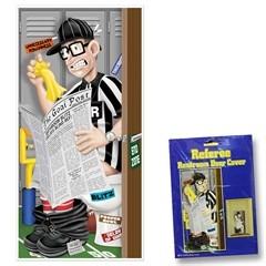 Football Referee  Restroom Door Cover