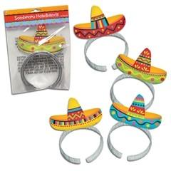 Sombrero Headbands - 8 Pack