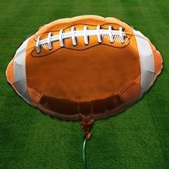 Football Metallic Balloon - 18 Inch