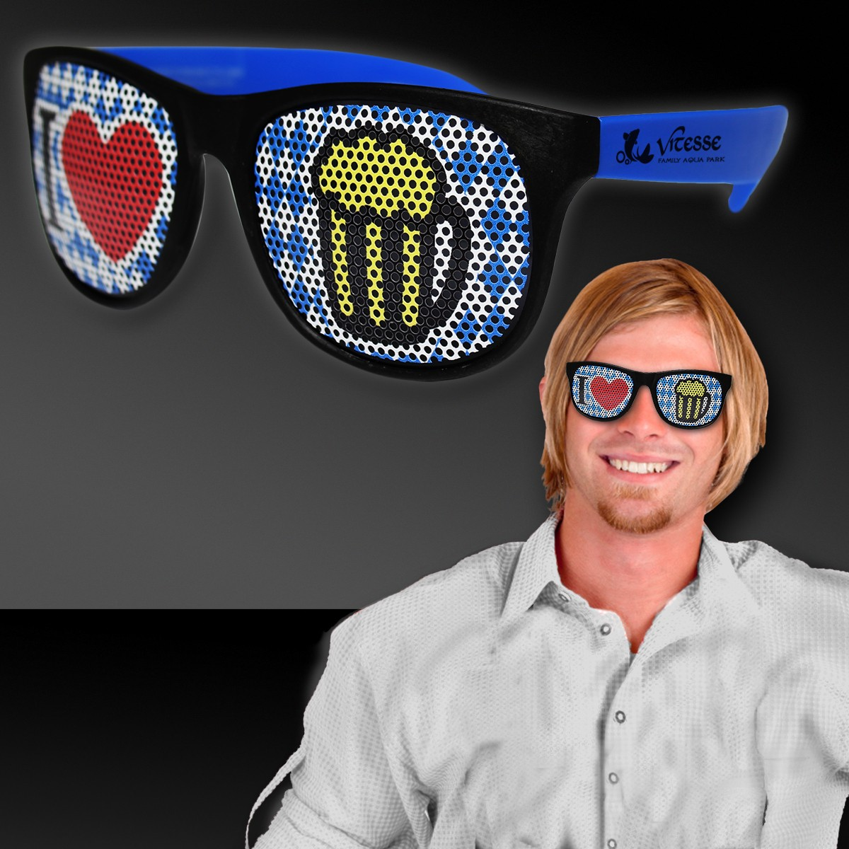 Oktoberfest Billboard Sunglasses