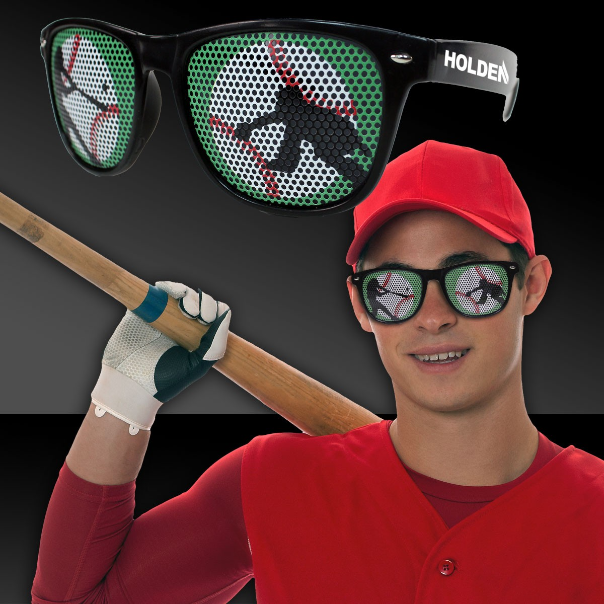 Baseball Billboard Sunglasses
