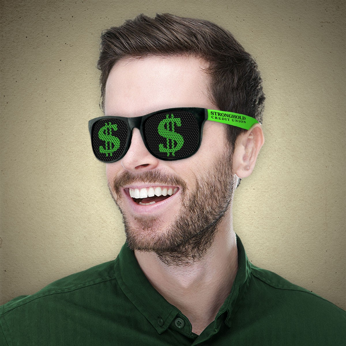 Dollar Sign Novelty Sunglasses