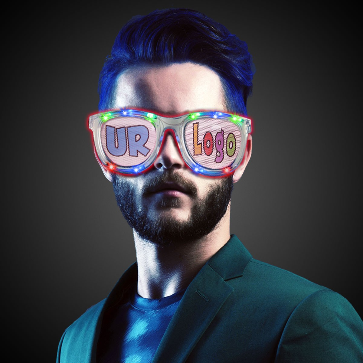LED Jumbo Billboard Sunglasses