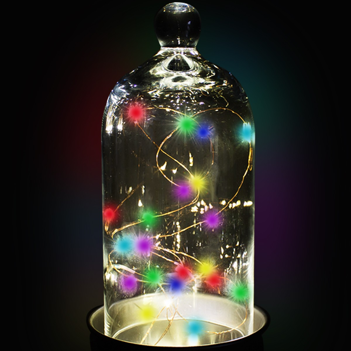 Multi Color LED String Lights - Light Up Novelties