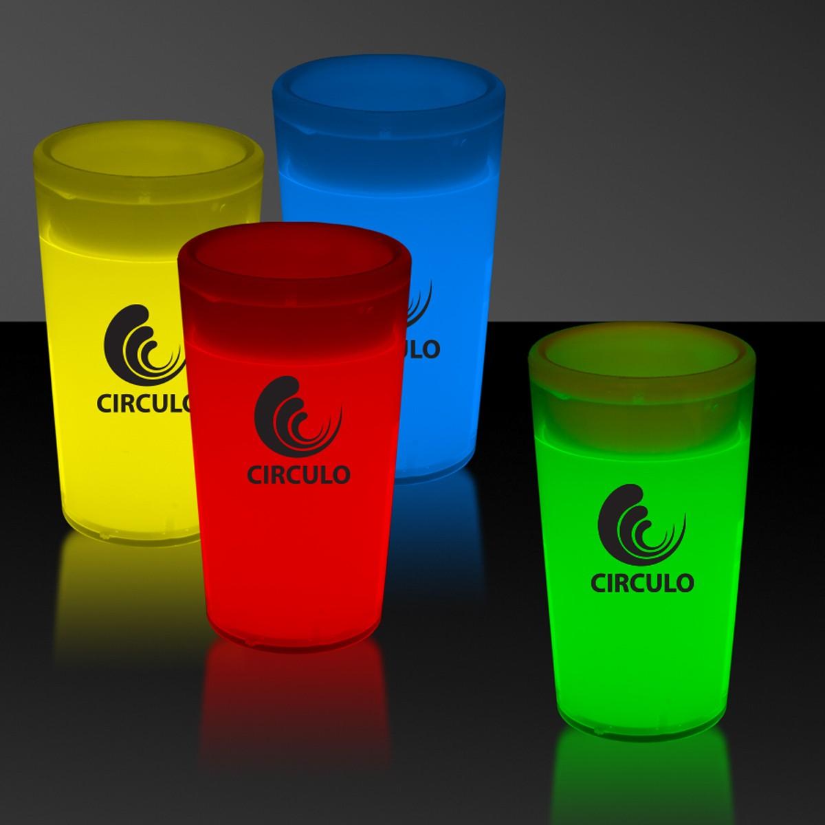 2 Ounce Glow Shot Glass