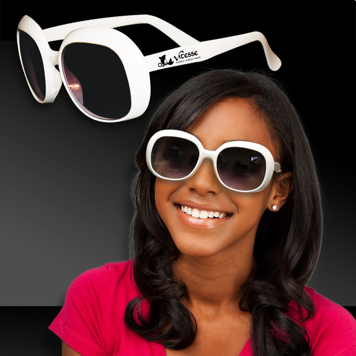 White Fashion Sunglasses