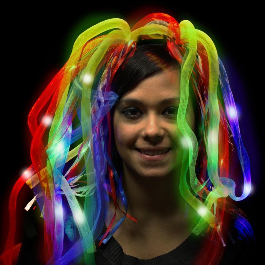 Rainbow LED Diva Dreads