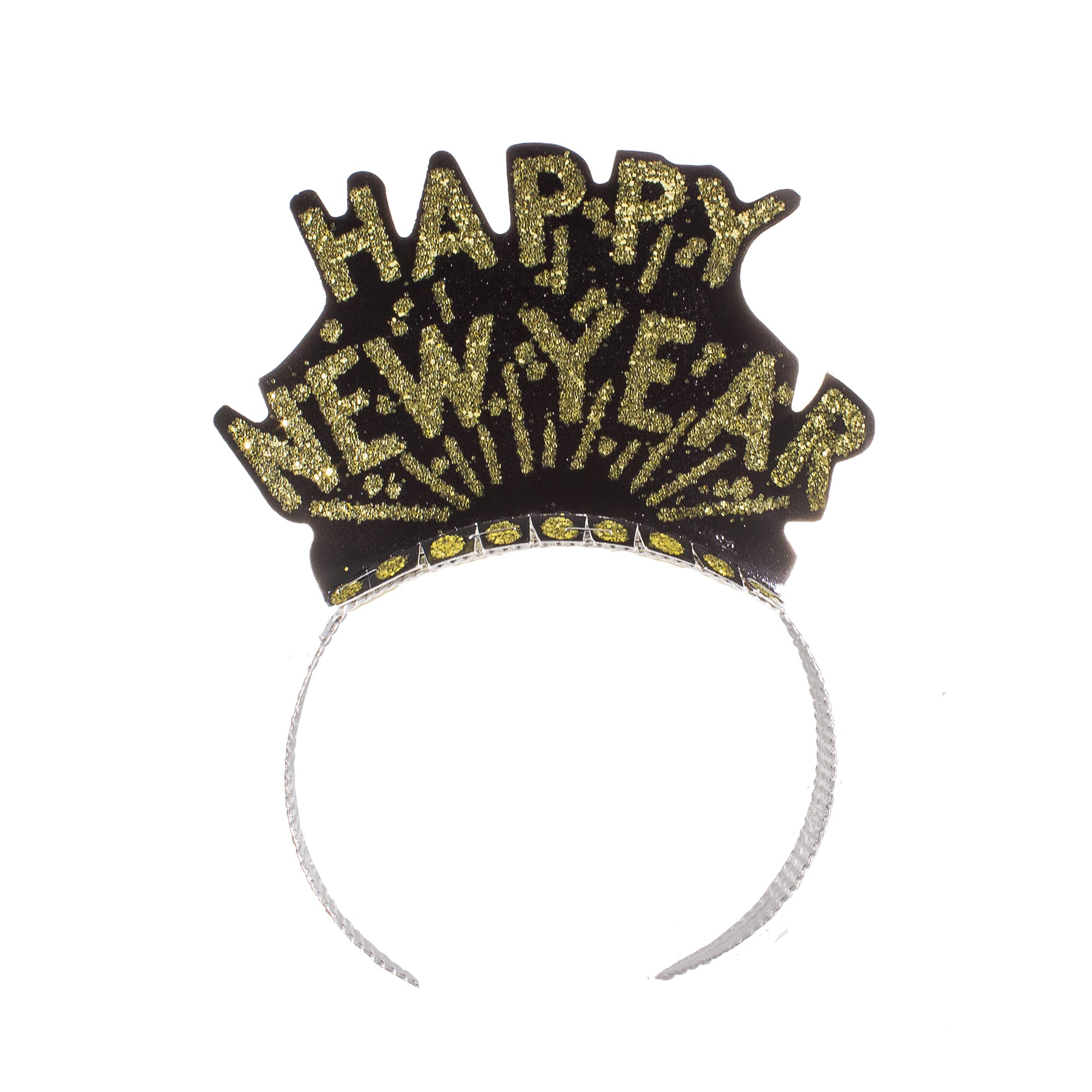 Happy New Year   Black & Gold Tiaras