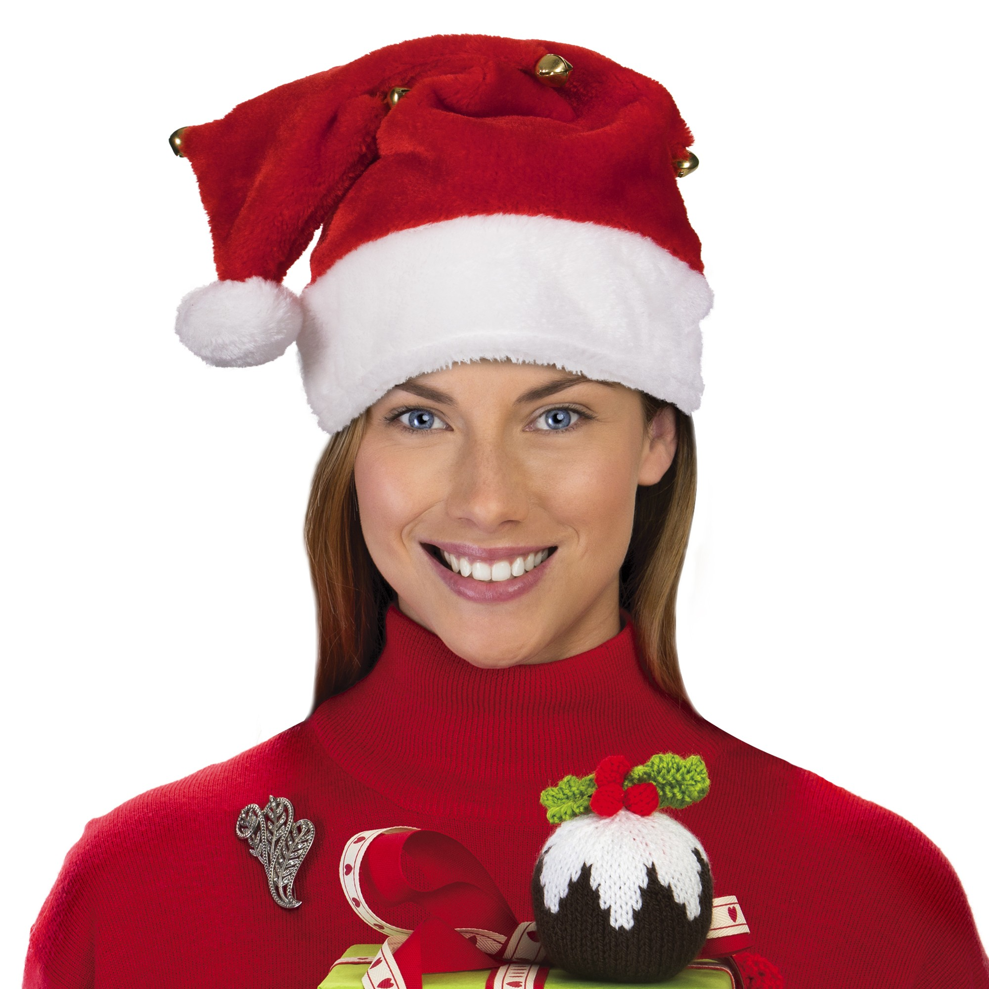 Santa Hat with Bells