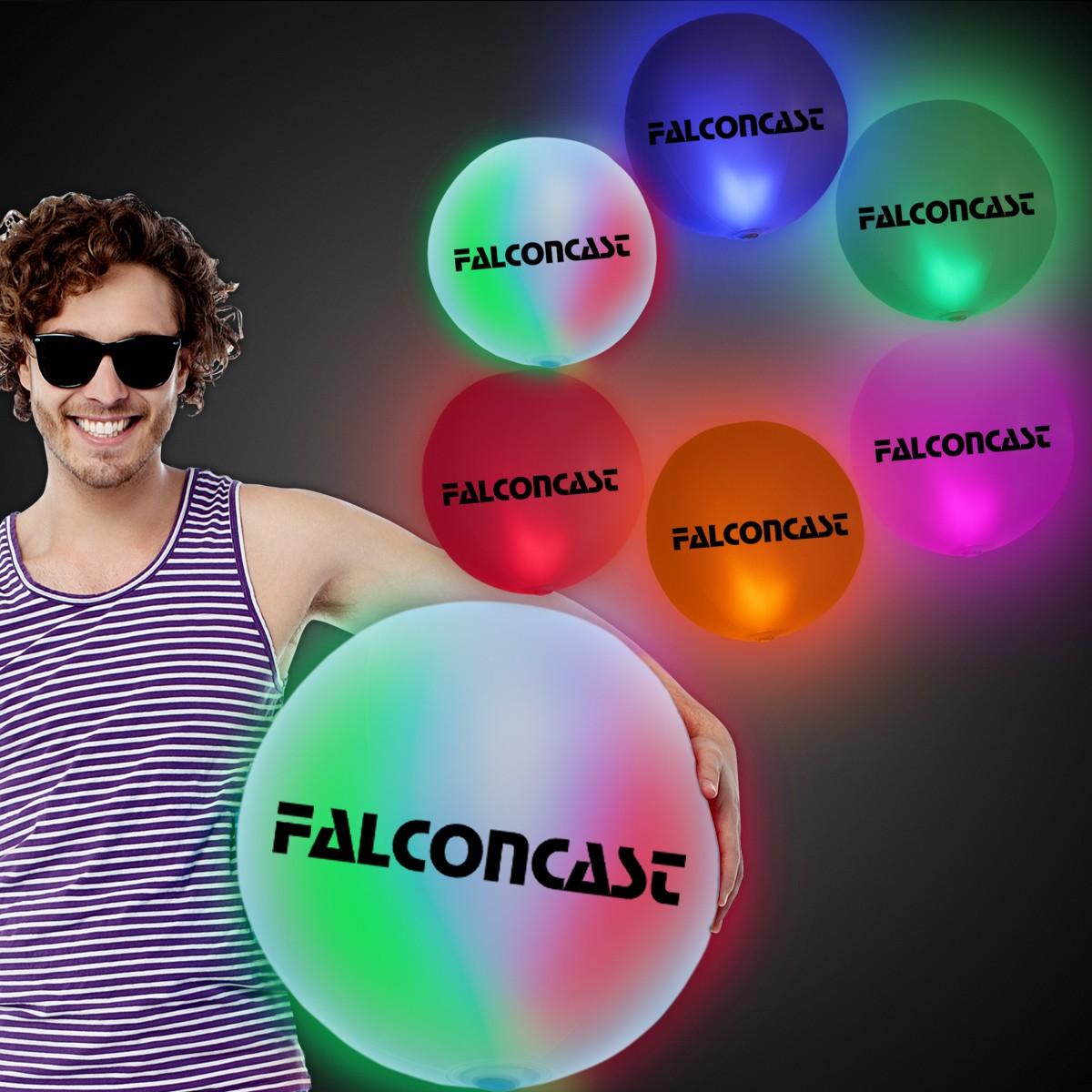 "30"" LED Inflatable Beach Ball"