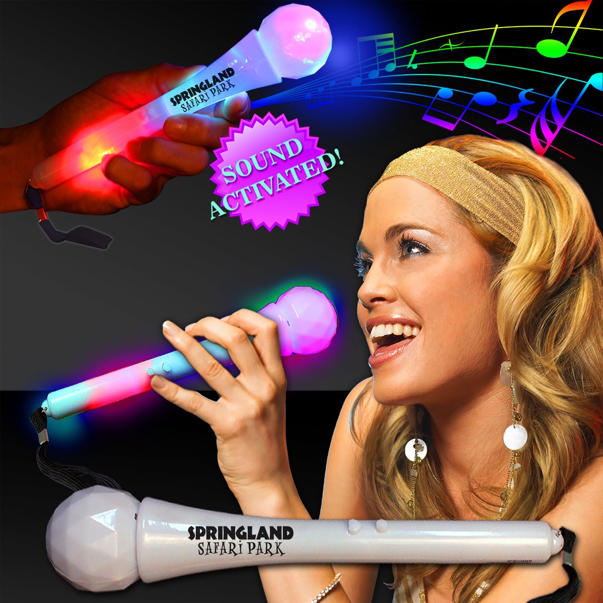 LED Sound Activated Microphone