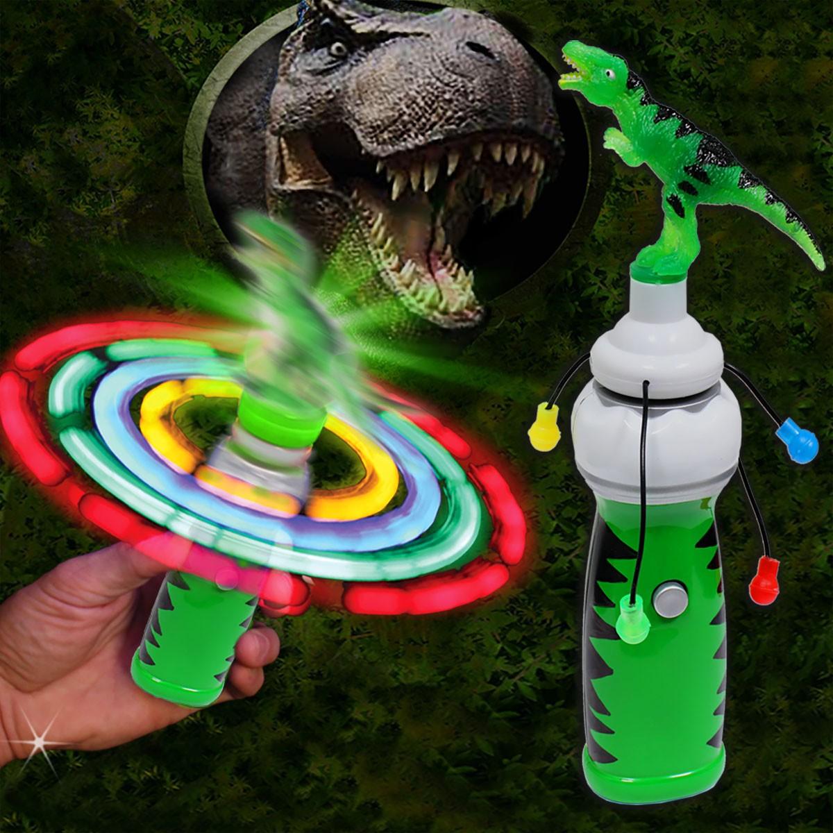 Dinosaur LED Spinner Wand