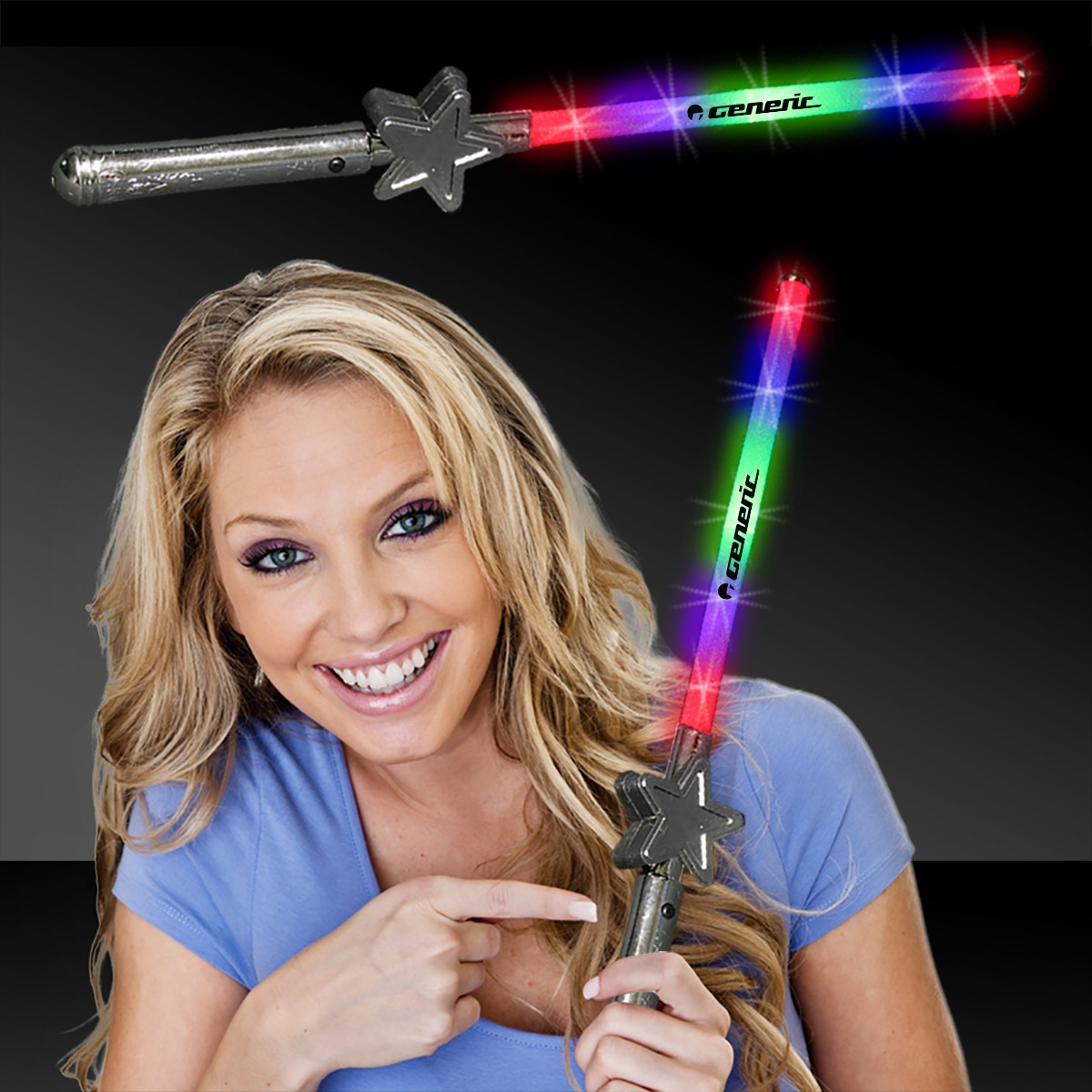 LED Star Wand - 15 1/2 Inch