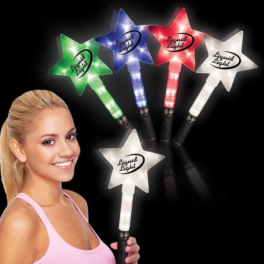 Light Up Star Wands