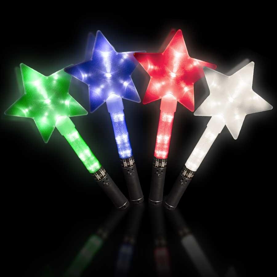 Light up star wands light up novelties for Light up wand