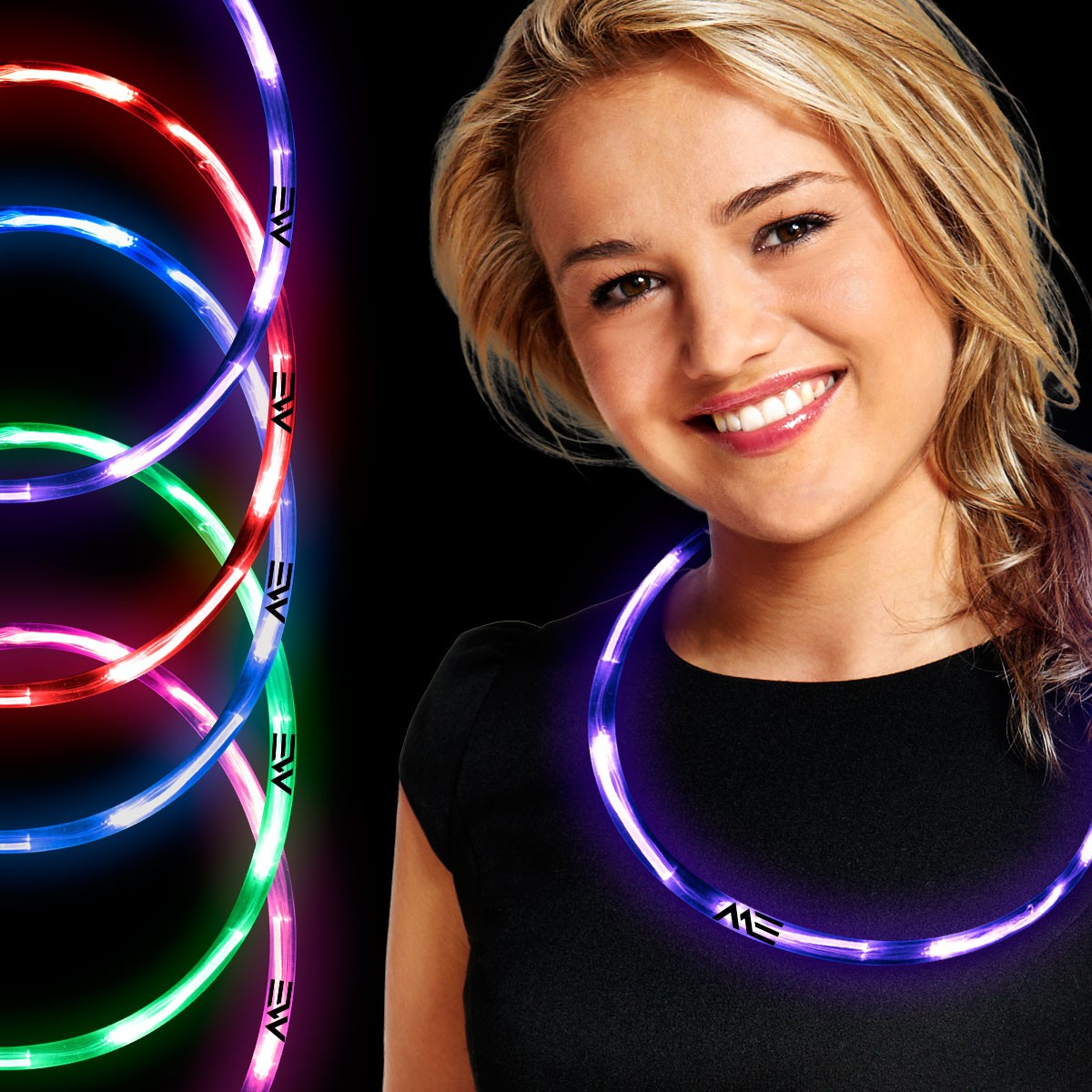 Neon LED Necklaces