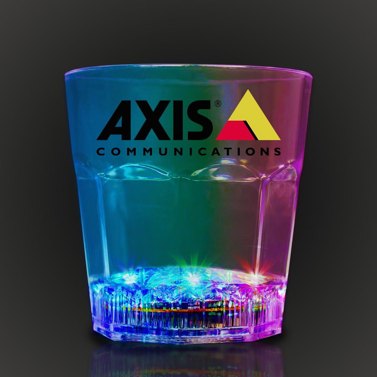Light Up Rocks Glass - 8 Ounce