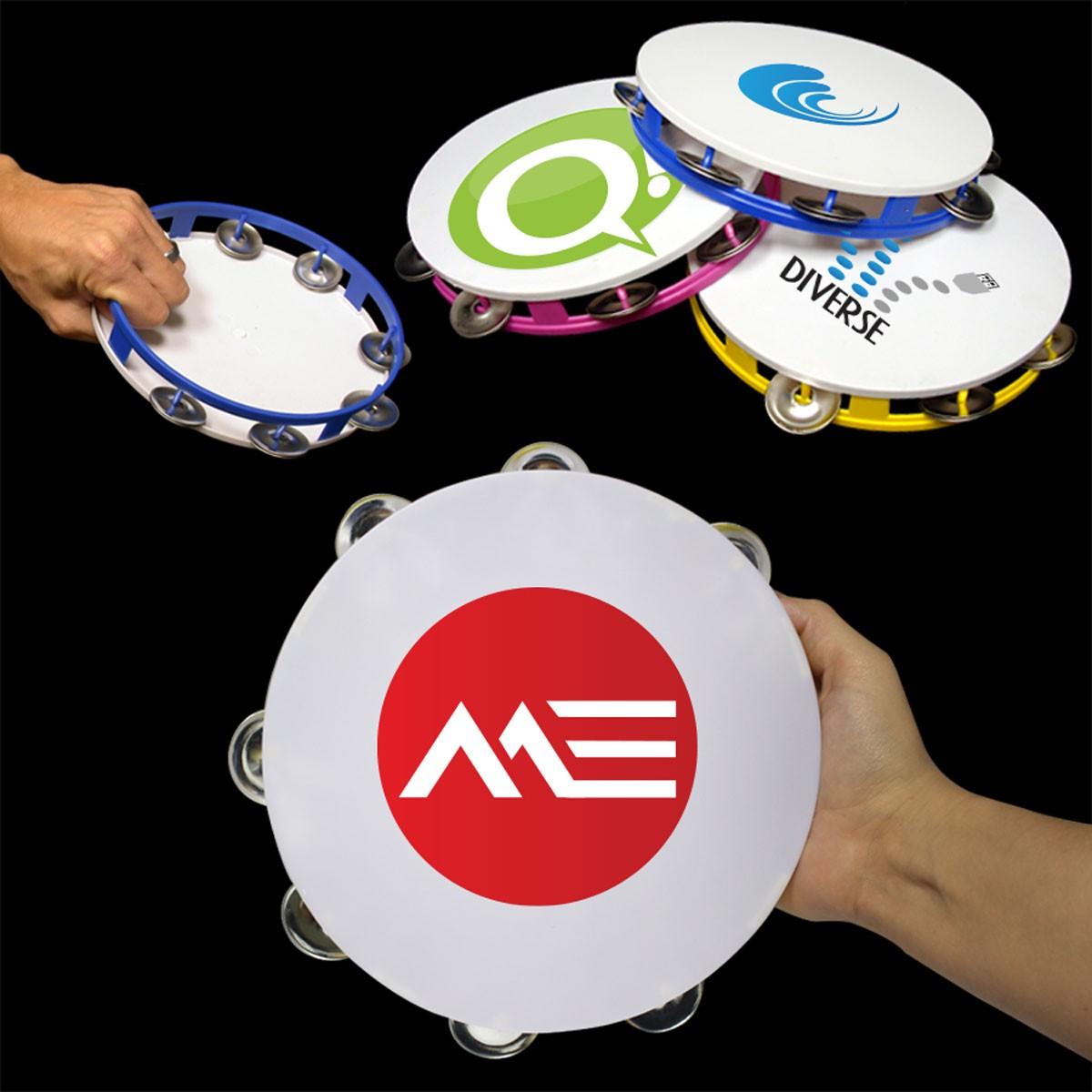 """8"""" Plastic Tambourines"""