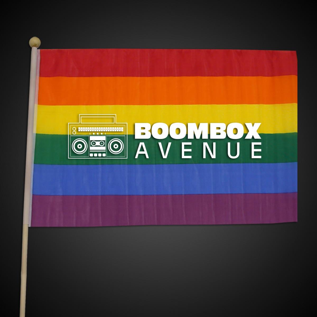 """Rainbow Flag - 12"""" x 18"""""""