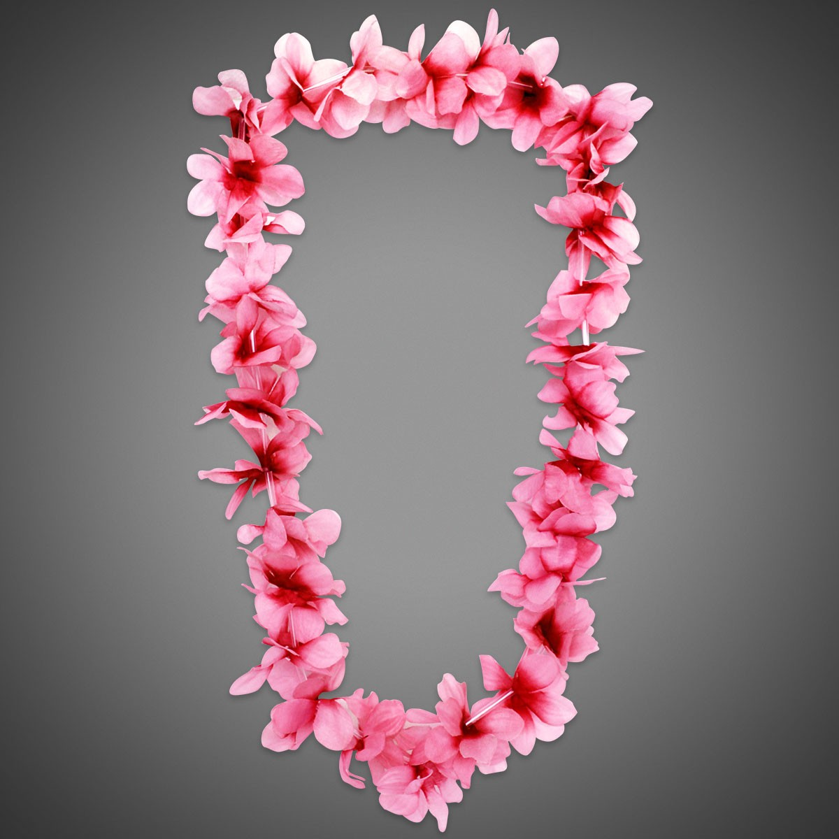 Pink flower leis breast cancer abdominal cancer awareness mightylinksfo