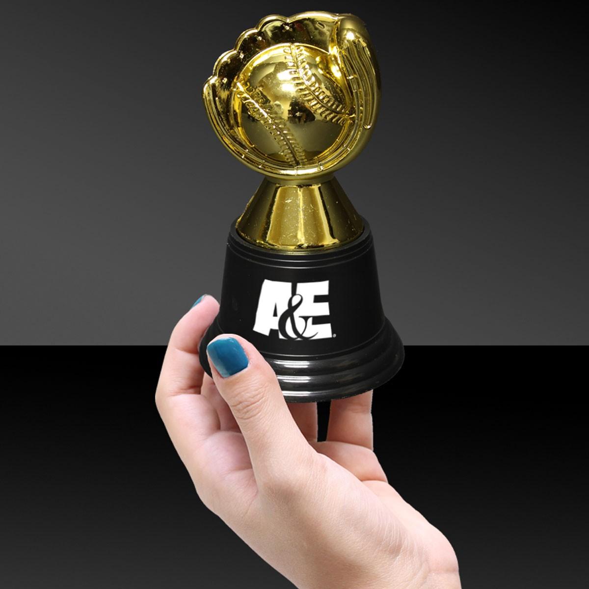 Plastic Baseball Trophy - 4 3/4 Inch