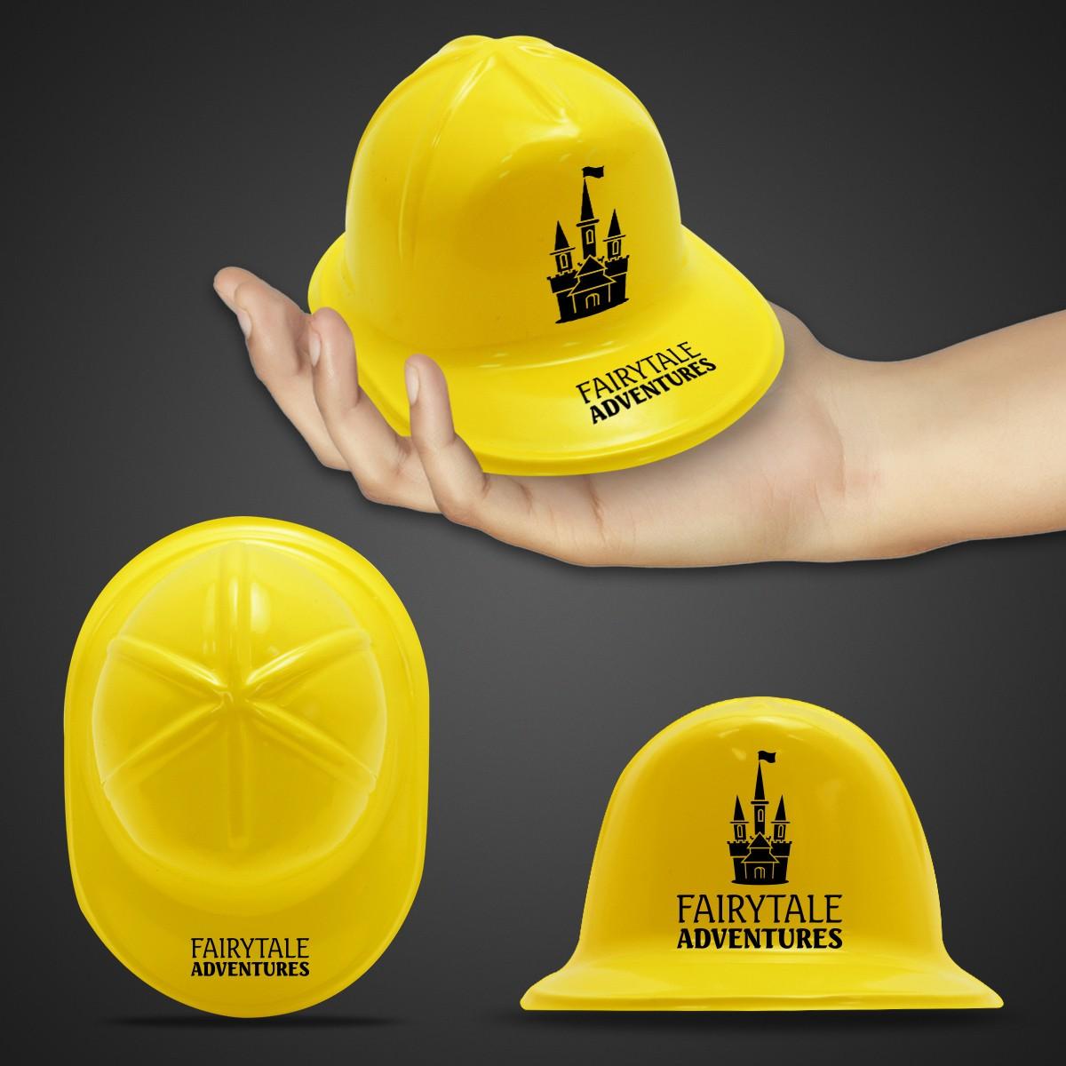 Mini Yellow Plastic Construction Hat