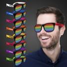 Rainbow Neon Billboard Sunglasses