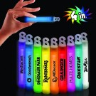 "Premium Glow Sticks - 4"" - Variety of Colors"