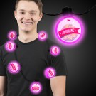 Pink LED Ball Necklace