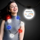 Patriotic LED Ball Necklace