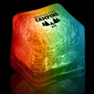 Imprinted RAINBOW Lited Ice Cubes