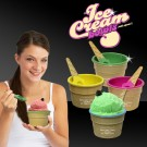 Ice Cream Bowl and Spoon Sets - Variety of Colors