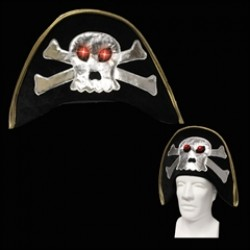 Flashing LED Pirate Hat