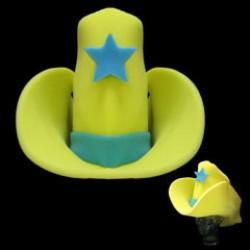Giant Yellow Foam Cowboy Hat