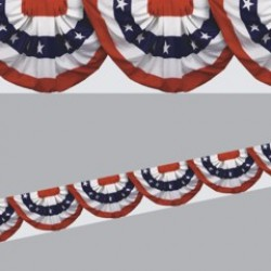 Patriotic Bunting Border Roll