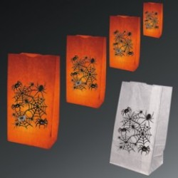 Spider Luminary Bags - 50 Pack