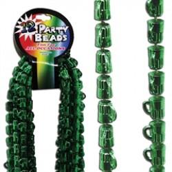 Green Beer Mug Beads