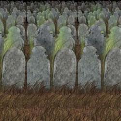 Graveyard Backdrop