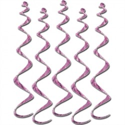 Pink Ribbon Twirly Whirlys