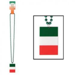 Irish Flag Necklace Beads