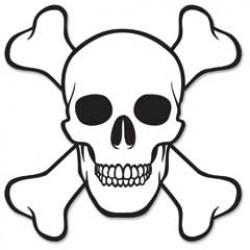Skull and Bones Cutout