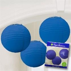 Blue Paper Lanterns