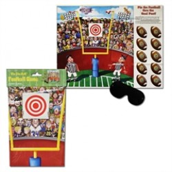Pin the Football Game