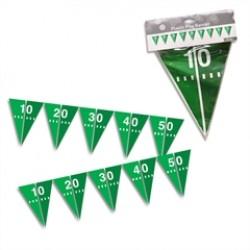 Football Field Pennant Banner