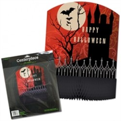 Frightful Night  Honeycomb Centerpiece